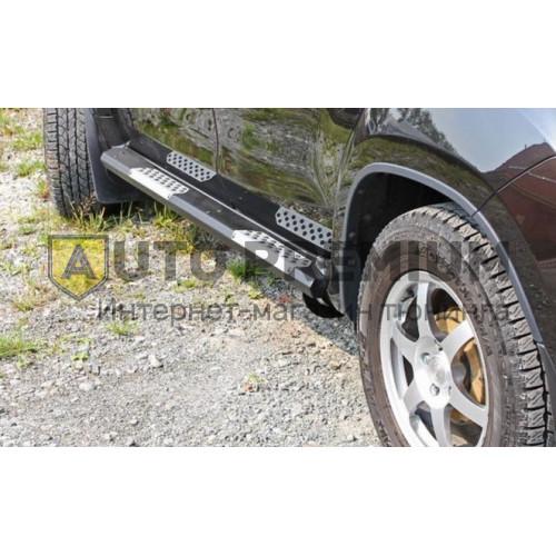 Пороги Renault Duster а-ля «Эстонец» (алюминий)